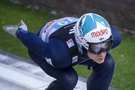 Antti Aalto sai hypätä yhden kisahypyn Bischofshofenissa.
