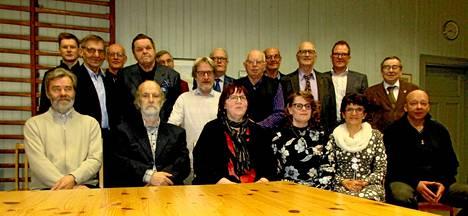 Nykyään Kiikan torvisoittokunnan soittajat ovat eri puolilta Sastamalaa ja mukaan on saatu myös naisia.