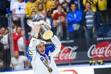 Kristian Kuusela oli voittamassa MM-kultaa vuosi sitten.
