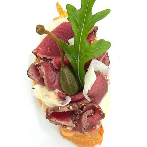 Yleisön suosikiksi nousi Tampinkoski Kitchen & Barin peuracarpaccio.