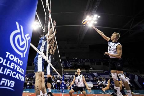 Suomen suoritus ei riittänyt olympiapaikkaan.