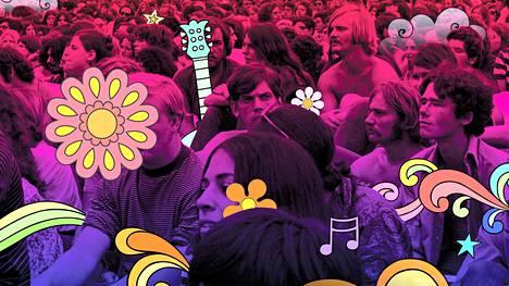 Woodstockin legendaarinen musiikkifestivaali järjestettiin Yhdysvalloissa 50 vuotta sitten elokuussa 1969. Se keräsi aikansa populaarimusiikin tähdet ja satojentuhansien yleisön heinäpellolle keskelle maaseutua.