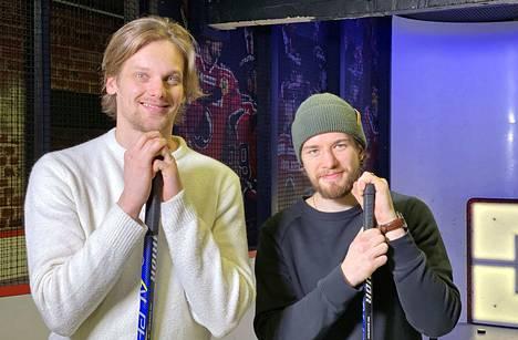 Mikko Salmio (vas.) ja Olli Vainio miehittivät haastekisan ääripäät.