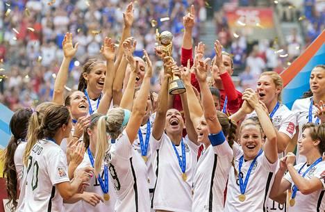 Yhdysvallat juhli mestaruutta viimeksi neljä vuotta sitten Kanadassa.