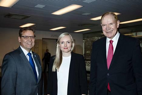 Tampereen pormestari Lauri Lyly, sisäministeri Maria Ohisalo ja vuonna 1999 päämisterinä toiminut Paavo Lipponen olivat kaikki Tampereen EU symposiumin puhujina.