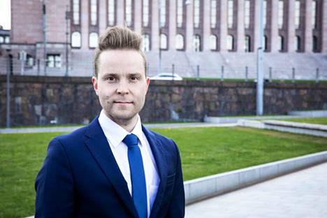 Kansanedustaja Petri Honkonen
