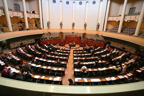 Suomen ensimmäiset eduskuntavaalit pidettiin vuonna 1907. Kuva on vuodelta 2008.