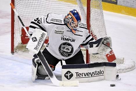Kari Piiroinen sai TPS-pestinsä aikana tililleen yhden miesten jääkiekkoliigan ottelun.