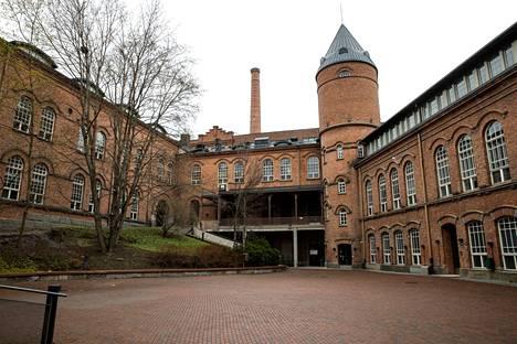 Frenckellin myynti hyväksyttiin Tampereen kaupunginvaltuustossa kesäkuussa. Kuva on otettu toukokuussa 2021.