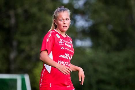Jasmin Ylikraka kuvattuna kesällä 2018.