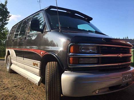 Chevrolet ehti olla myynnissä vain reilun viikon ennen varkautta.