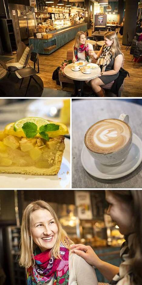 Coffee House on ihanteellisella paikalla kävelykadun varrella Sokoksella. Maistuisiko latte vai skumppa?