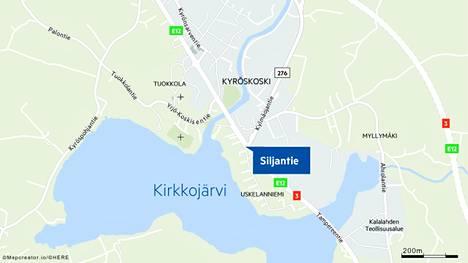 Nokipalo syttyi Hämeenkyrön Siljantiellä.