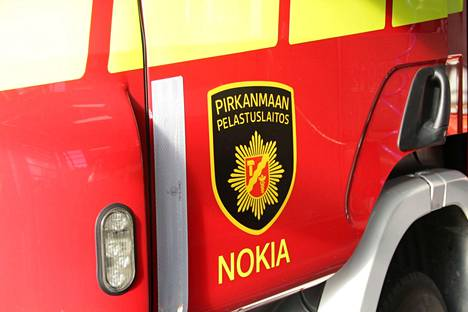 Pelastuslaitos hälytettiin Pajakadulle sunnuntai-iltana. Kuvituskuva.