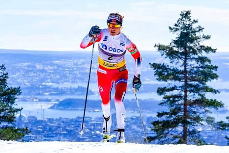 Therese Johaug on hiihdon supertähti.