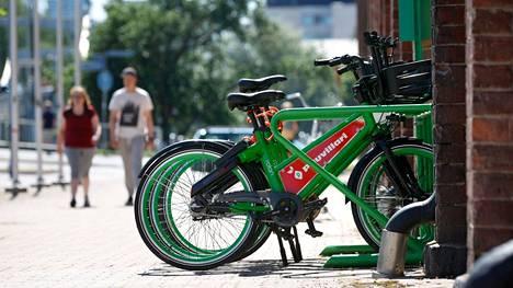 Uudet pyöräilyopasteet palvelevat niin porilaisia kuin paikkakunnalla vieraileviakin.