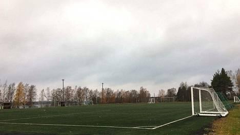Hopun urheilupuiston tekonurmikenttä on yksi Sastamalan kaupungin noin 150 liikuntapaikasta.