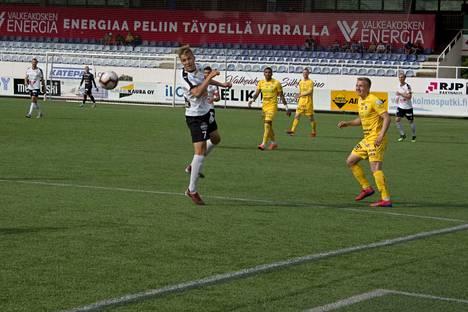 Antto Hilska oli pitelemätön Tehtaan kentällä lauantaina.