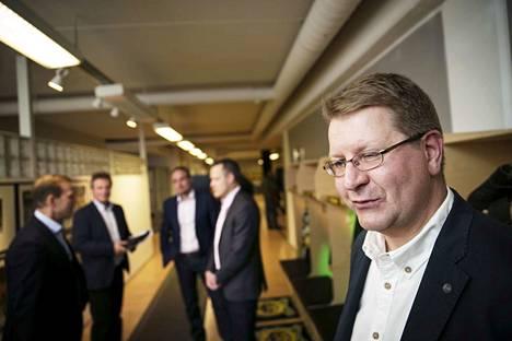 Jyrki Seppä nimettiin uudistuneen Ilves-Hockey Oy:n hallituksen puheenjohtajaksi 2017.