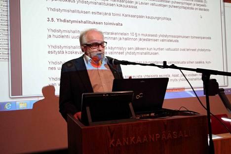 Vuonna 2014 Kankaanpään kaupunginjohtajana toimi Paavo Karttunen.