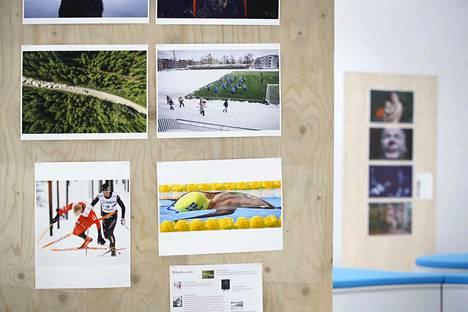 Kuvajournalismi-näyttelyssä ovat esillä myös muun muassa vuoden urheilukuva, uutiskuva ja lehtikuva.