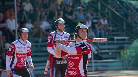 Severi Piispanen pelasi puolitoista kautta Manse PP:n riveissä. Tänä kesänä Piispanen nähtiin ensi kertaa myös Itä–Länsi-ottelussa. Kuva Tampereen Kaupista kesältä 2018.