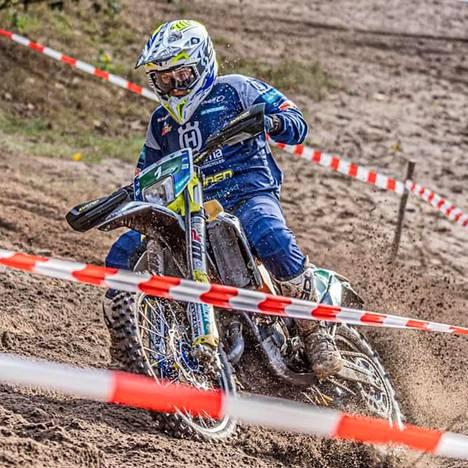 Pyry Juupaluoma ajoi enduron Euroopan mestariksi Hollannissa viime viikonloppuna.