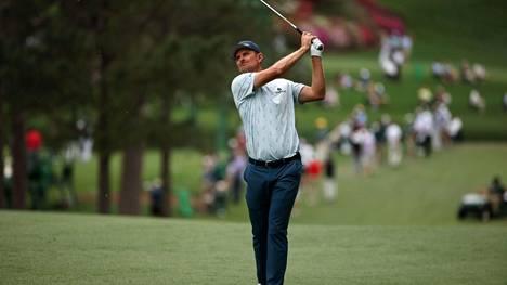 Justin Rose aloitti väkevästi Augustassa pelattavan Masters-turnauksen.