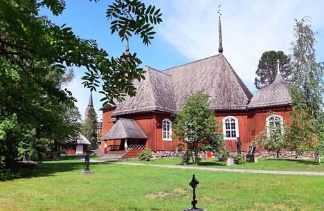 Keuruun vanha kirkko 6.6.2019.