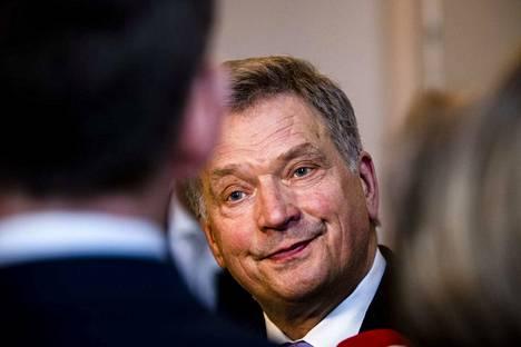Tasavallan presidentti Sauli Niinistö ylisti Leijonien sankaritöitä twitter-tilillään.