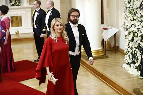 Maria Guzenina hehkui punaisessa.