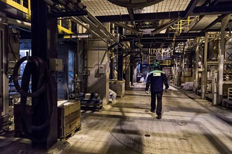 Norilsk Nickelin tehtaalla Harjavallassa pitäisi olla hiljaista alkuviikosta työnseisauksen vuoksi.