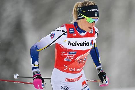 Frida Karlsson ei saavu Salpausselälle.