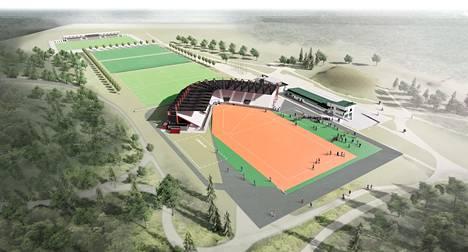 Tavoitteena on saada stadion käyttöön heinäkuussa 2022.
