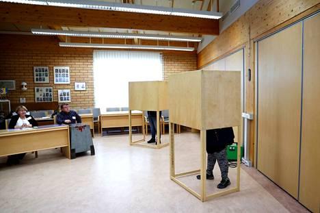 Luvialla äänestettiin viime kuntavaaleissa kuntaliitoksen seurauksena ensimmäistä kertaa valtuutettuja Eurajoen kunnanvaltuustoon.