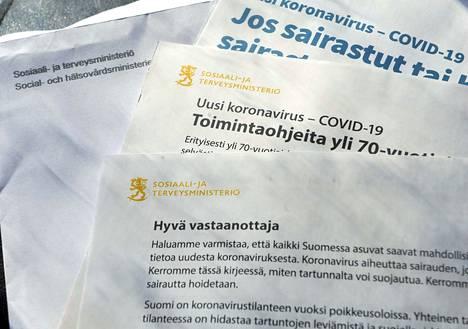 Huhtikuisen kansalaiskirjeen kaikki ohjeet eivät enää pidä paikkaansa.