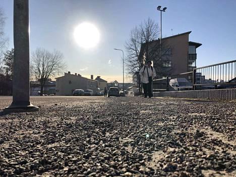 Soraa on Jämsän kulkuväylillä nyt paljon, mutta sinne ne toistaiseksi jäävätkin talvisempia kelejä odottamaan.