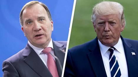 Ruotsin pääministeri Stefan Löfven sai Yhdysvaltojen presidentti Donald Trumpilta puhelun lauantaina. Trump haluaa räppärin vapaaksi.