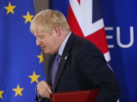 Britannian pääministeri Boris Johnson sai sovittua EU:n kanssa brexit-sopimuksesta torstaina. Lauantaina hänen pitää yrittää saada sopimus läpi parlamentissa.
