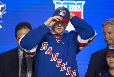 Kaapo Kakko lähtee kokeilemaan taitojaan New Yorkiin. Kakon odotetaan olevan valmis pelaamaan NHL:ssä heti syksyllä.