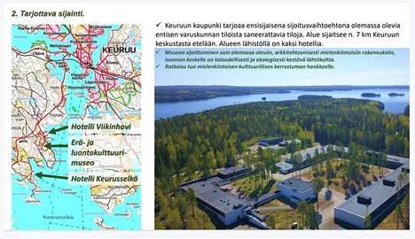 Keuruun kaupunki haki Erä- ja luontokulttuurimuseon sijoituspaikaksi.