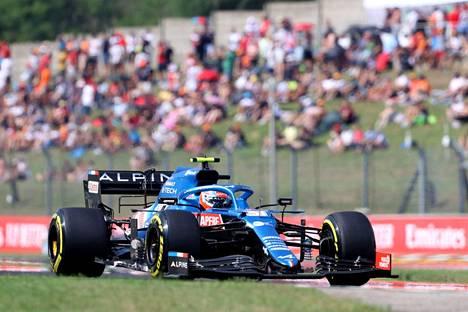 Esteban Ocon ajoi Unkarin gp:n voittoon.