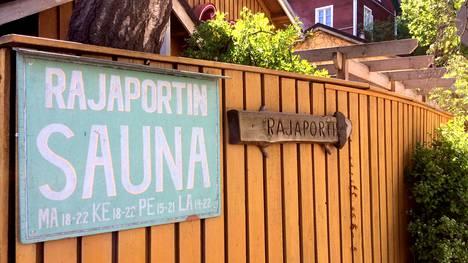 Tamperelainen Rajaportin sauna oli mukana hakemassa suomalaiselle saunaperinteelle Unescon tunnustusta.