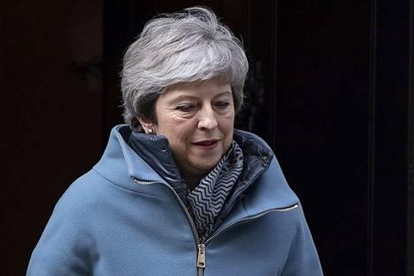 Konservatiivipääministeri Theresa May haki tukea sopimukselle monilla keinoilla.