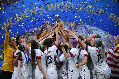 USA onnistui uusimaan maailmanmestaruutensa Ranskassa.