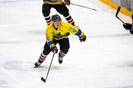 Julius Harttunen teki sunnuntaina tehot 1+1.