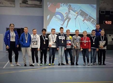 E1-juniorit palkittiin NTK:n vuoden joukkueena.