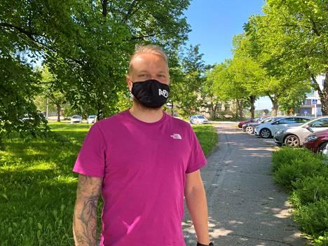 Jarno Iijolainen on Roismalan Ponnistuksen, RoPon, valmennuspäällikkö.