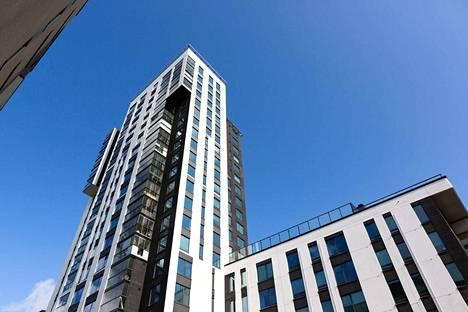 Luminaryn betoninen julkisivu ja sen eristeet ovat palamatonta materiaalia.