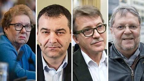 Varsinaiset valtuutetut Anneli Kivistö, Atanas Aleksovski, Ilpo Sirniö ja Esa Kanerva jättivät sdp:n yllättäen maaliskuussa.